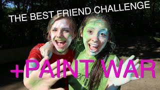 THE BEST FRIEND TAG- PAINT WAR