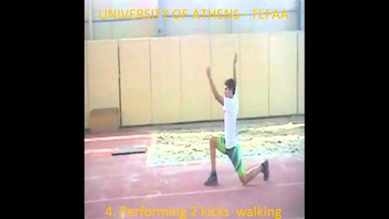 Kick Technique Long Jump Hitch Kick Technique