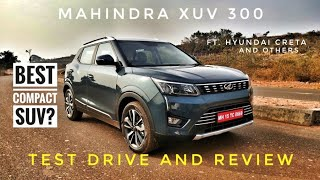 Mahindra XUV300 - Driver's Car? Ft. Hyundai | Test Drive and Review | Traction Control