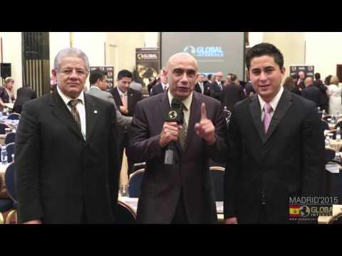Global InterGold Madrid  Antonio Garduño, Wilfredo Vélez y Víctor Chávez
