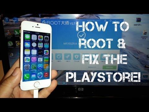 Goophone i5S MTK6572 - How to Root and Google Play Fix!