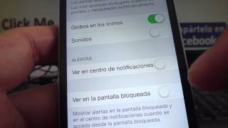 Iphone Español Tutoriales Cómo Activar O Desactivar Notificaciones Whatsapp Iphone IOS 7 Ios8