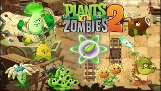 Plants vs Zombies 2 - All Plants Power-ups