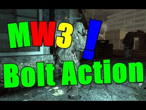 COD-Mw3- Bolt Action auch mal in Call of Duty [HD]