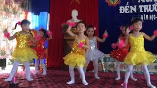 Bé múa khai giảng -chắp cánh ước mơ, ngày hội đến trường của bé - ước mơ tuổi thơ của bé