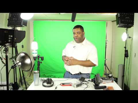 Basic equipment for quality Youtube video production
