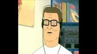 Hank Hill listens to Sunn O)))