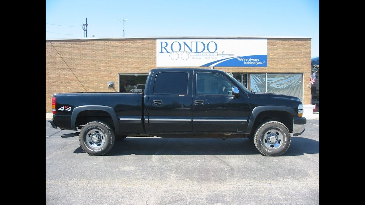 2002 chevy 2500hd crew cab 119k miles 7995 1237. Black Bedroom Furniture Sets. Home Design Ideas
