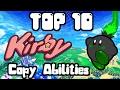 Top 10 Favorite Kirby Copy Abilities