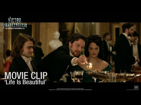 Victor Frankenstein ['Life Is Beautiful' Movie Clip in HD (1080p)]
