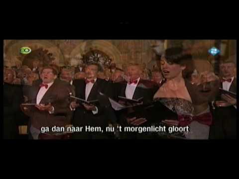 Er Is Een God Die Hoort Groot Nederlands Mannenkoor Olv Martin Mans video