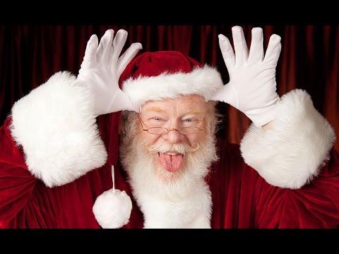 Санта лично провожает нас домой и раздает автографы. Такое бывает раз в жизни!