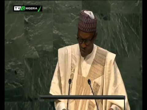 PRESIDENT BUHARI'S ADDRESS TO THE UNITED NATIONS