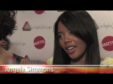 Angela Simmons Talks About Relationship W/ Rob Kardashian - HipHollywood.com Video