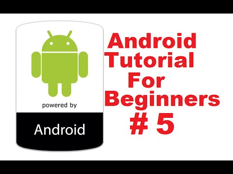 Android Tutorial for Beginners 5 # Android Activity Lifecycle