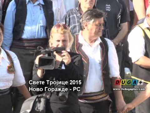 Sv Trojice u Novom Gorazdu - Zoki Bend, Boro i Nedjo - (LIVE) - (Tv Duga Plus 2015)