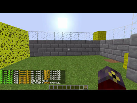 Bukkit Plugin Tutorial: How to set up PrisonMine