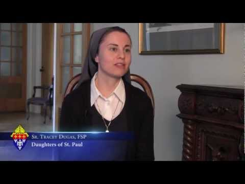 Vocation Story - Sr. Tracey Dugas, FSP