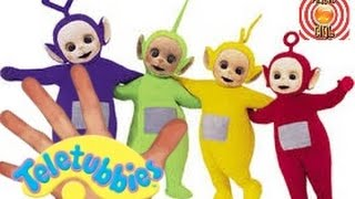 Teletubbies Finger Family (Daddy Finger) Song 2016 Nursery Rhyme Kids Songs 3D CBeebies