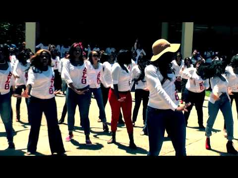 DELTA SIGMA THETA YARD SHOW AT SOUTHERN UNIVERSITY SPRING 2012!