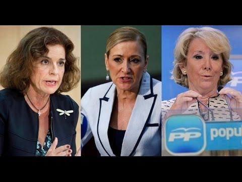 Botella, Cifuentes y Aguirre: duelo por la alcaldía de Madrid