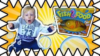 Goliath Game Fish Food Toy! Playing With Fish Food Board Game Toy Review!