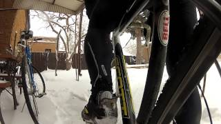 Snow Day // a cyclocross short