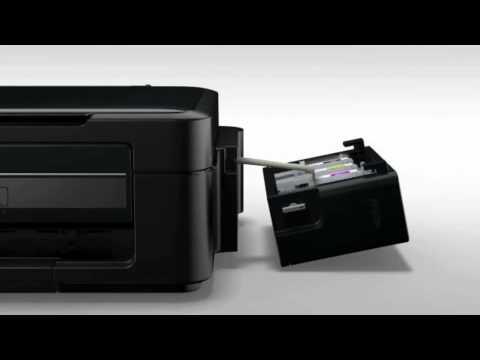 Epson -- Instalação das impressoras Tanque de Tinta