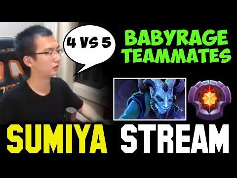 SUMIYA Invoker PMA 4v5 Master Tier Riki | Sumiya Facecam Stream Moment #296