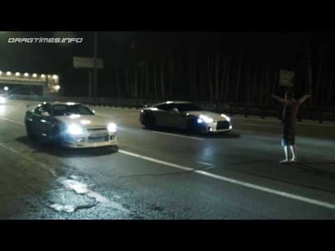 Nissan Skyline GT-R vs Nissan GT-R and Corvette ZR1 vs Nissan GT-R
