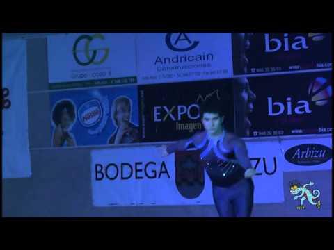 Gala Internacional Patinaje Artistico AD Noain 2012   Exhibicion Kevin Bordas  Campeon Mundial 2012