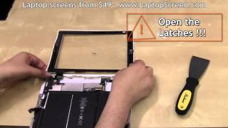 iPad 2 screen replacement, iPad 2 digitizer replacement / repair / guide