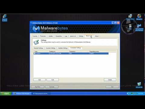 Malwarebytes AntiMalware 1.7 BETA - Test with more links