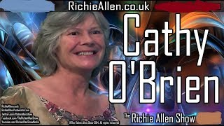The Richie Allen Show Monday December 3rd 2018 Feat. Cathy O'Brien On The Real George H. W. Bush!
