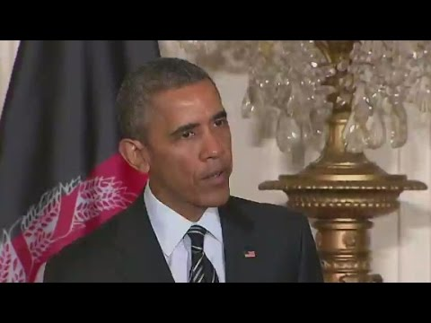 President Obama: We will maintain Afghanistan troop levels