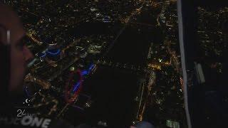 Stunning views of London at night