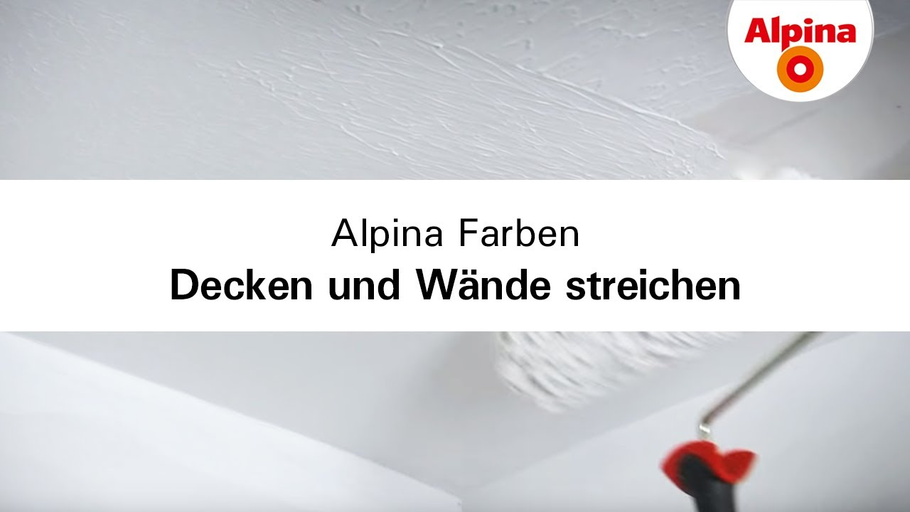 Alpina alpinawei 10 l ab 39 89 preisvergleich bei - Wand farbig streichen abstand decke ...