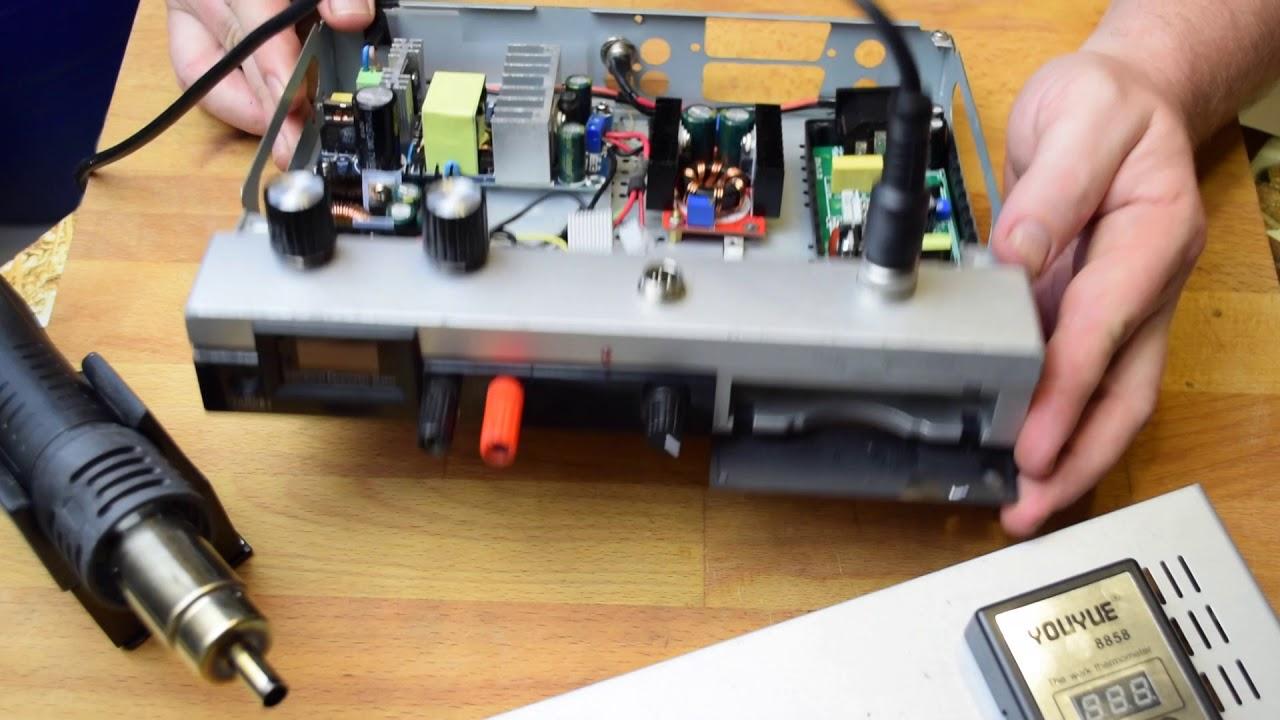 Паяльная станция из блока питания компьютера своими руками 13