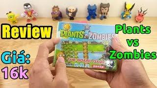 Trên tay đồ chơi Plants vs Zombies game kinh điển trên điện thoại