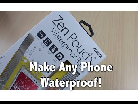 Exclusive: Zen Pouch Unboxing. Review. Make Any Phone Waterproof