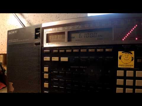 21 07 2015 International Radio Serbia Italian, announcement to closing on SW 1730 on 6100 Bijeljina