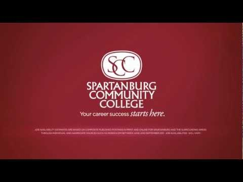 Spartanburg Community College TV Commerical   Jobs