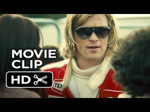 Rush Movie CLIP - Confrontation (2013) - Ron Howard, Chris Hemsworth Movie HD