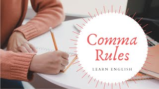 Comma Rules (Part 1) with Subordinate Clauses - English Punctuation