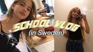 a day in my life at school (in Sweden)