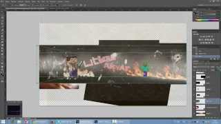Photoshop CC - Utku Akyar Youtube Banner