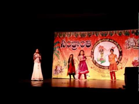 Kirti Chamkura performing at TANTEX Sankaranthi 2013