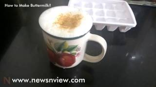 How to Make Buttermilk | Learn to Make Punjabi Lassi Chhaas from Curd | Masala Chhaas Receipe