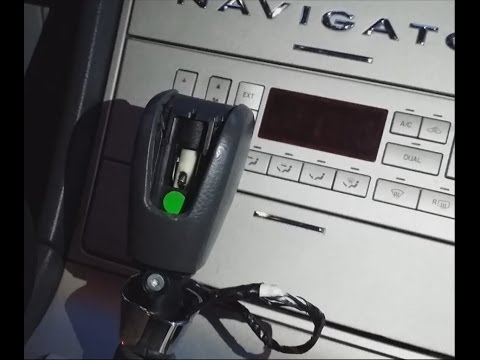 Lincoln Navigator Shifter is Stuck   Locked Gear & Key   Won't move from Park   Aviator   Ford