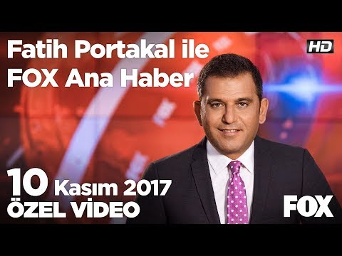 Erdoğan ve CHP arasında Atatürk polemiği... 10 Kasım 2017 Fatih Portakal ile FOX Ana Haber